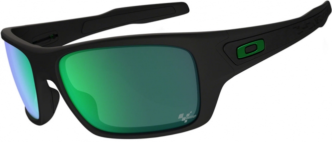 Oakley Moto GP Turbine - Matte Black/Jade Iridium